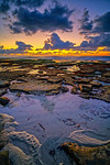 Sunset at La Jolla Tide Pools with a negative low tide<br /> 🔸 5 shot HDR, SNS-HDR | Lightroom<br /> 11▫27▫15