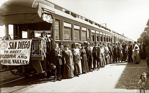 San Diego and Arizona Railway 1906