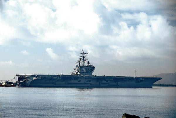 USS REAGAN Feb 2009