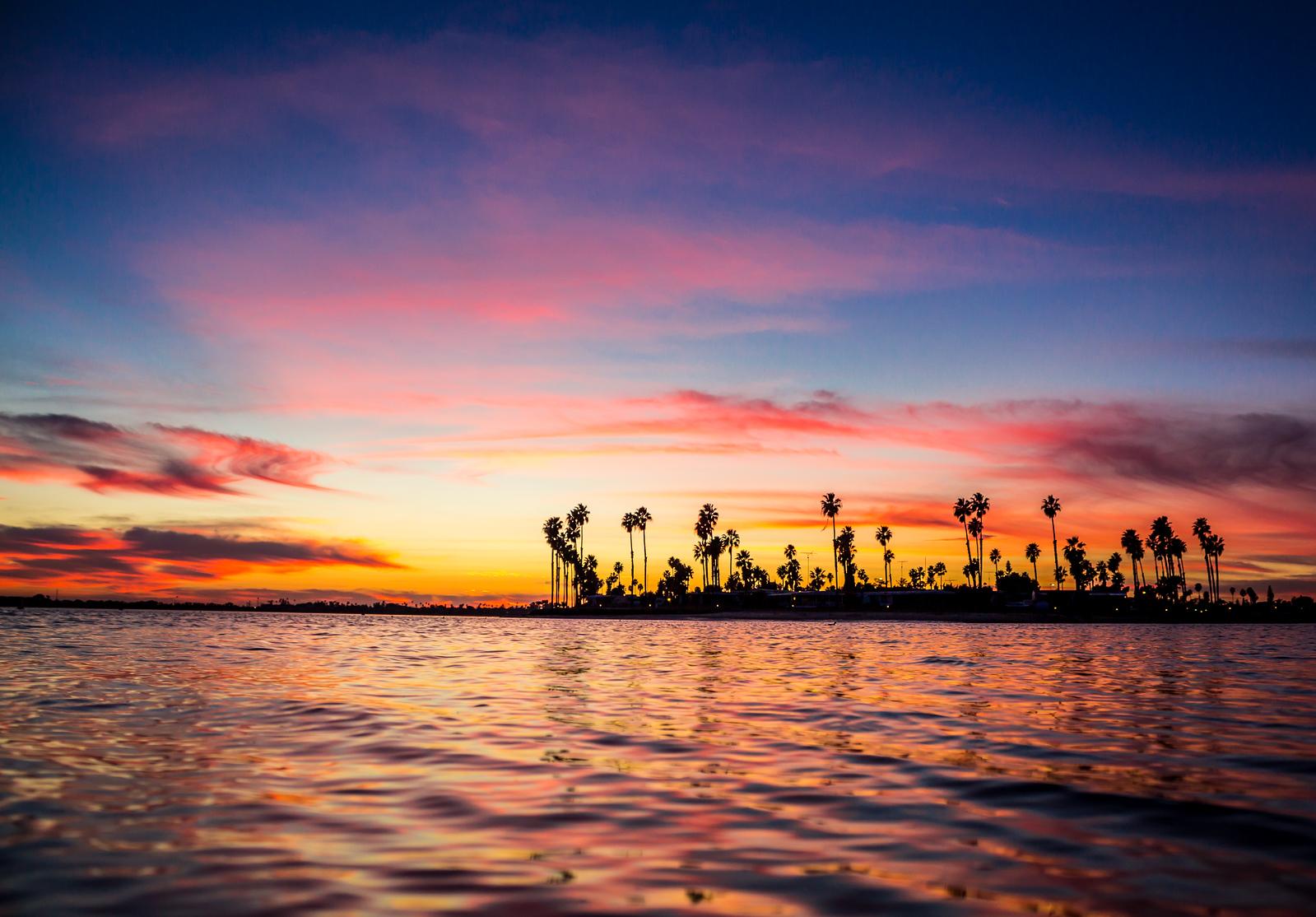 Mission Bay Sunset