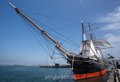 "Tall Ship ""Star of India,"" Maritime Museum of San Diego"