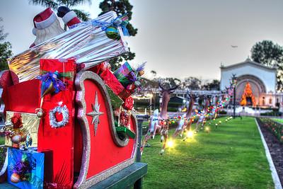Christmas in Balboa Park