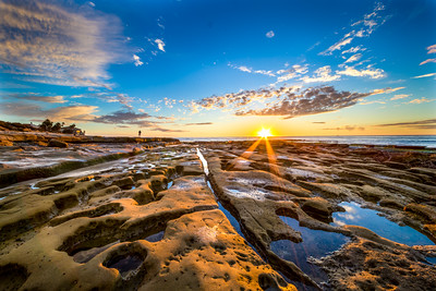 La Jolla Tide Pools at Sunset