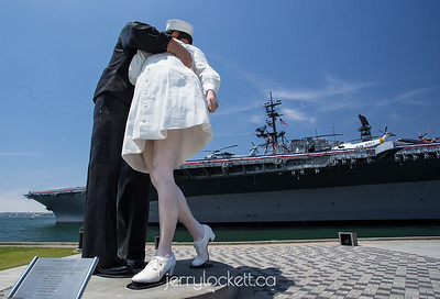 """Unconditional Surrender,"" USS Midway, San Diego"