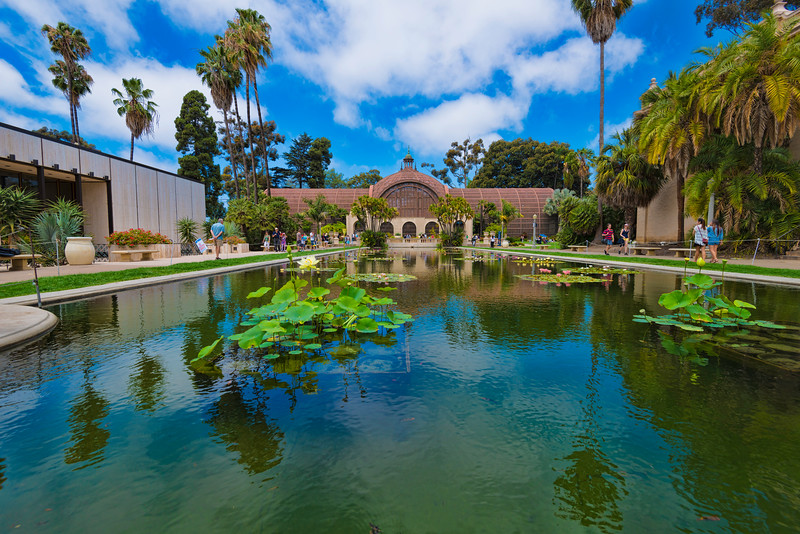 Wishing Pond in Balboa Park