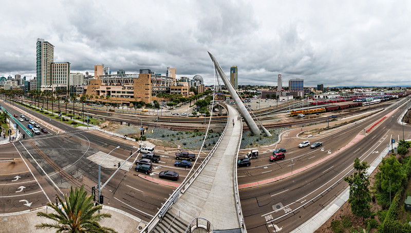 Pedestrian Bridge Panoramic