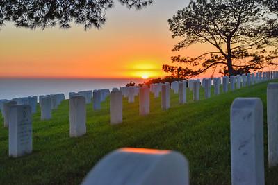 For the Veterans  Fort Rosecrans National Cemetary, CA