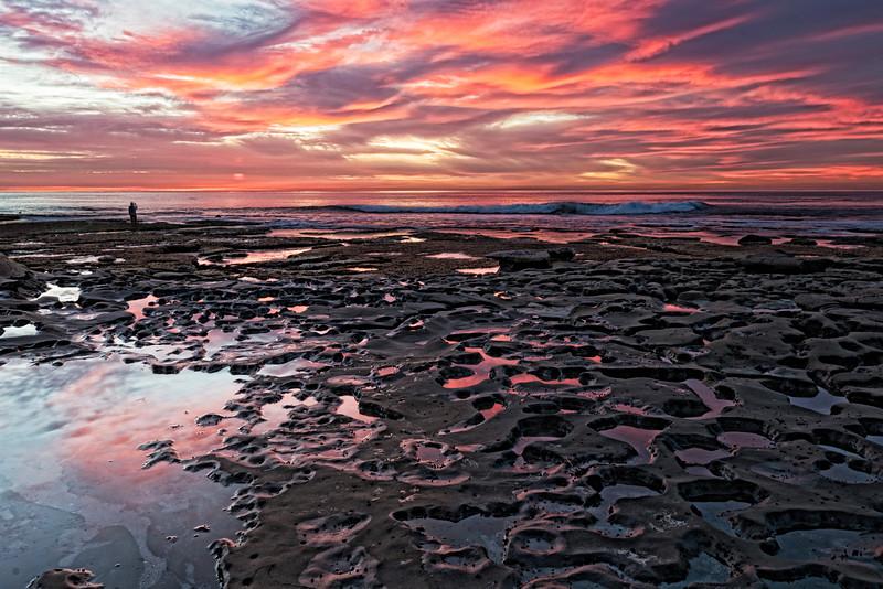 Sunset at Hospital's Reef La Jolla