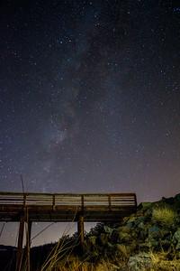 Milky Way over Lake Cuyamaca