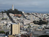 Coit Tower and Telegraph Hill, San Francisco.