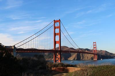 A Sunday Walk - Golden Gate