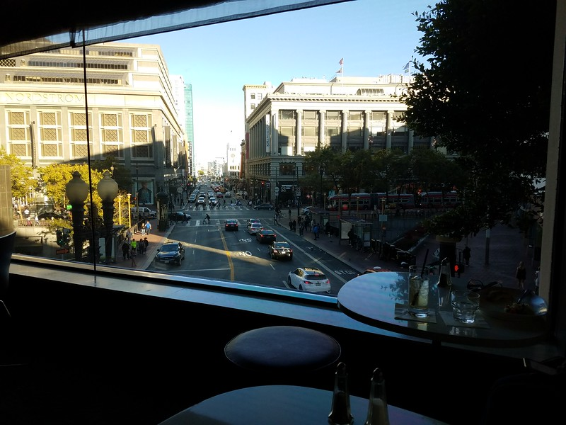 View from the Parc-55 bar.