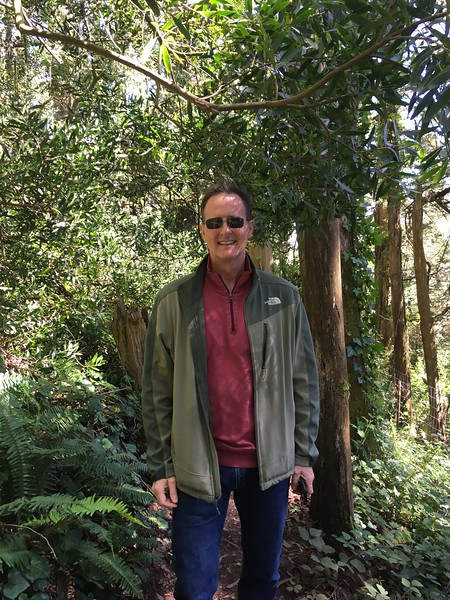 Me at the Eucalyptus forest near Twin Peaks hill in SF