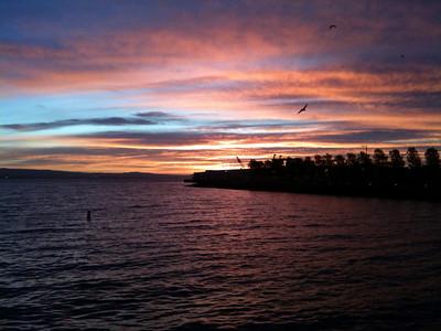 Embarcadero at sunrise