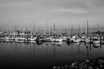 Yachts & Boats. Berkeley Yacht Club. Berkeley Marina - Berkeley, CA, USA