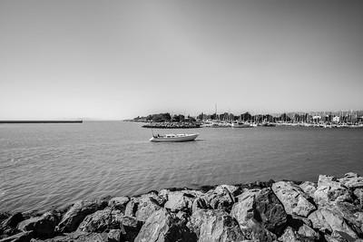 Boat. Berkeley Marine Center. Berkeley Marina - Berkeley, CA, USA