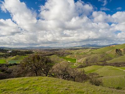 Livermore. East Shore Trail. Del Valle Regional Park - Livermore, CA, USA