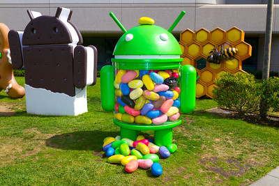 Android Jellybean - Google Mountain View