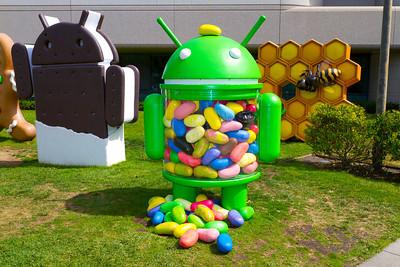Android Jellybean - Google Mountain View