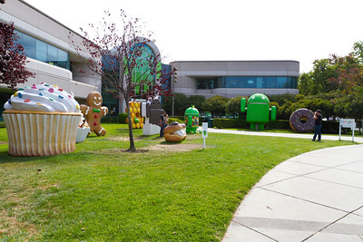 Android Building - Google Mountain View