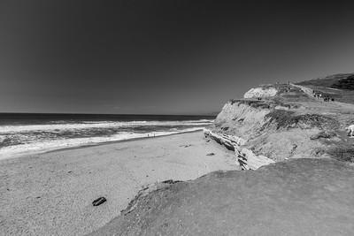 San Gregorio State Beach. Half Moon Bay, CA