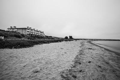 Beach.   Shot near Sam's Chowder House - Half Moon Bay, CA, USA