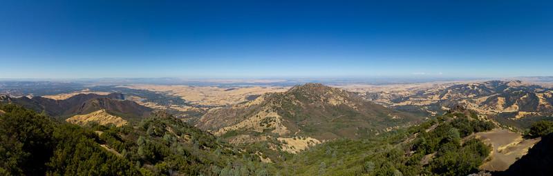 Peak. Mount Diablo State Park - California, USA