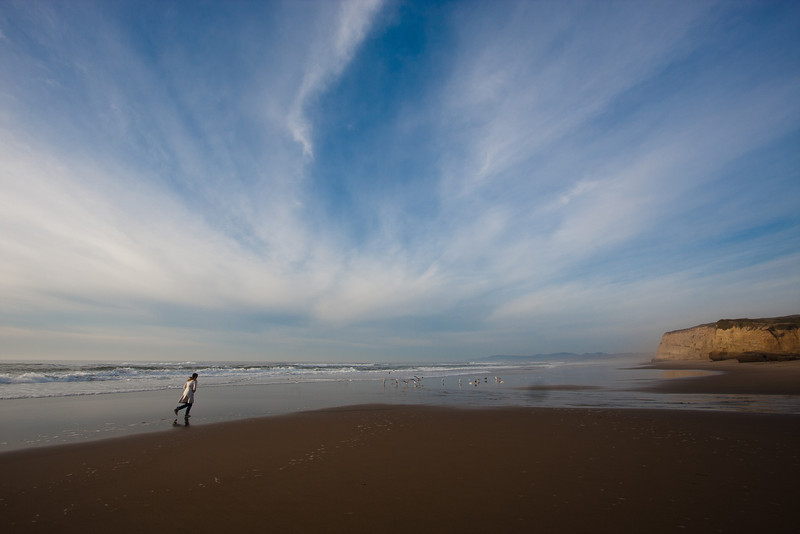 Pomponio Beach, CA