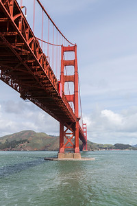 Golden Gate Bridge. Fort Point National Historic Site - San Francisco, CA, USA
