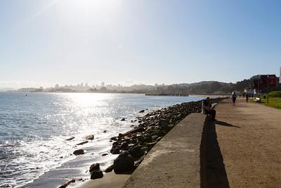 Sunrise. Near Torpedo Wharf - San Francisco, CA, USA