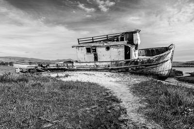 Point Reyes Shipwreck (at Tomales Bay) - Inverness, CA, USA