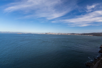 San Francisco. Golden Gate Bridge Vista Point - Sausalito, CA