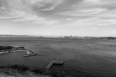 Horseshoe Bay & San Francisco. Golden Gate Bridge Vista Point - Sausalito, CA