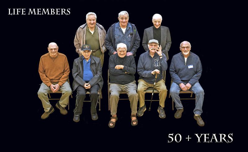 Life Members 50 plus years