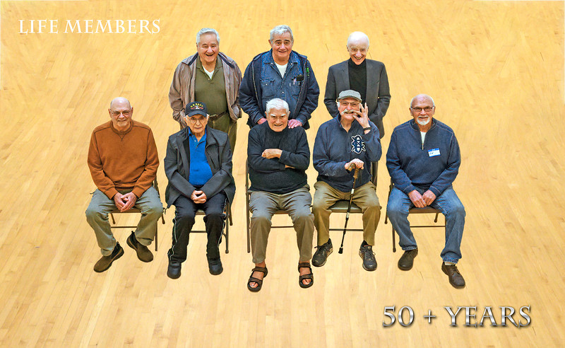 Life Members 50 plus years in court