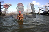 Bill passed away some years ago, his son Will, carries on swimming in San Francisco Bay...
