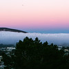 Fog through South San Francisco