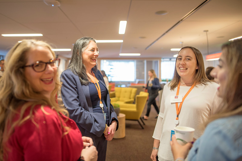 Chico State's Alumni Day at Salesforce West on Thursday, May 10, 2018 in San Francisco, Calif. (Jessica Bartlett /University Photographer/CSU Chico)