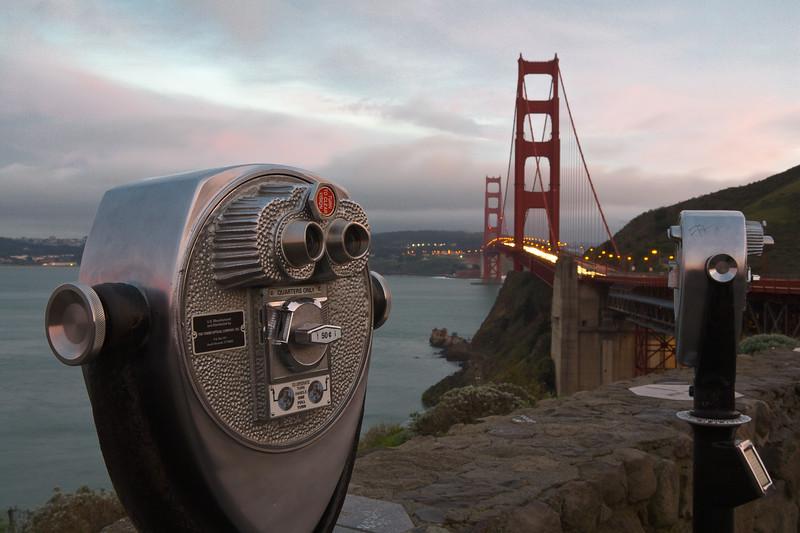 Golden Gate Lookout