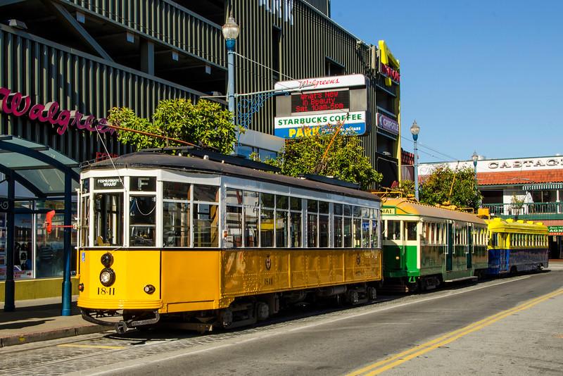 Milan, Italy Historic Streetcar No. 1811