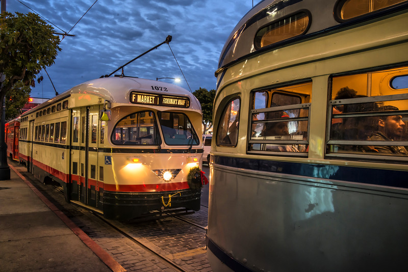 Mexico City, Mexico Historic Streetcar No. 1072