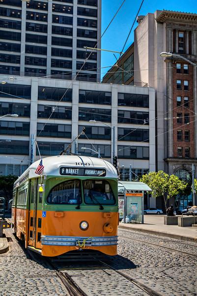 Los Angeles Transit Lines Historic Streetcar No. 1080