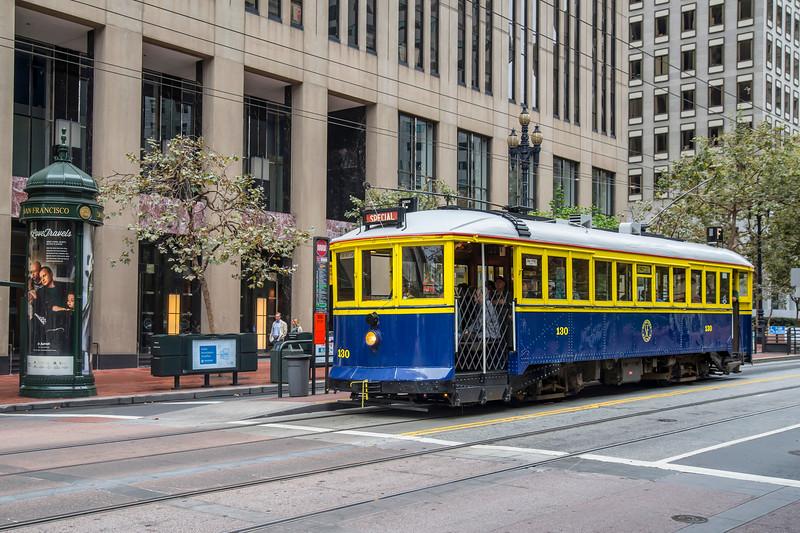 San Francisco Municipal Railway Historic Streetcar No. 130