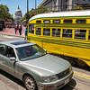 Cincinnati, Ohio Historic Streetcar No. 1057