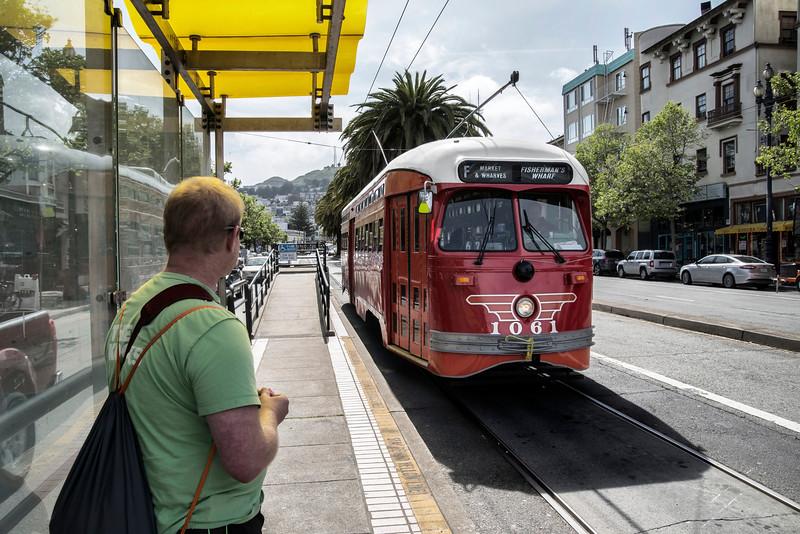 Pacific Electric (Southern California) Historic Streetcar No. 1061