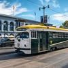 Market Street Railway Company Historical Streetcar No. 1011