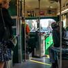 San Francisco Municipal Railway Historical Streetcar No. 1050 (Interior)