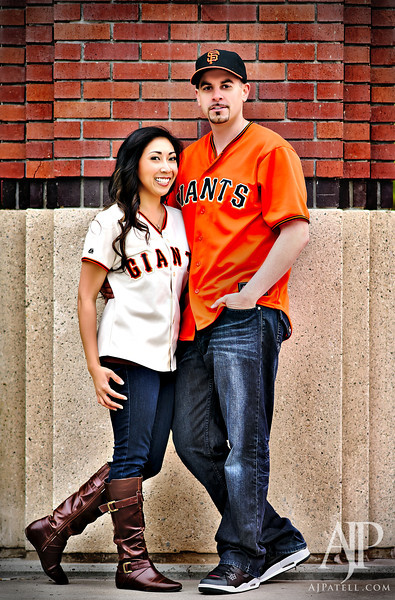 San Francisco engagement portrait