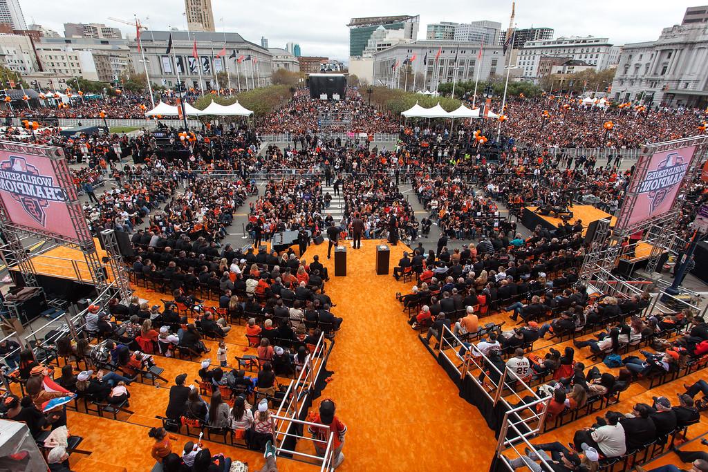 SF Giants Parade 2012