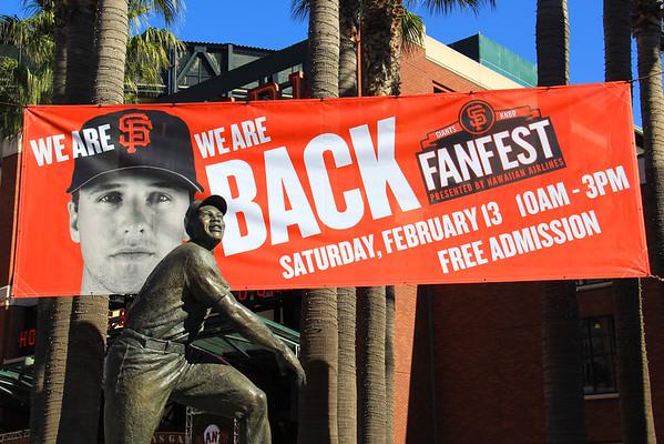 SF Giants FanFest - 2016